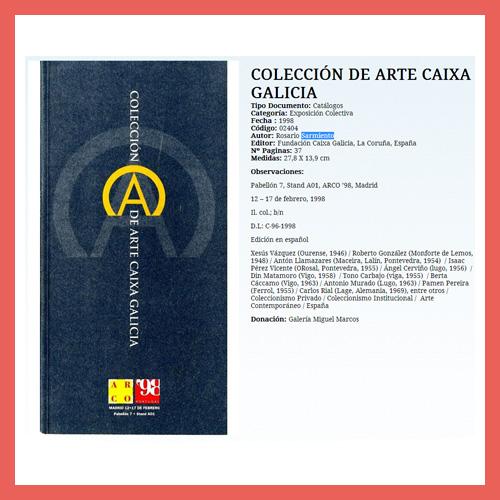 COLECCIÓN DE ARTE CAIXA GALICIA (1998)