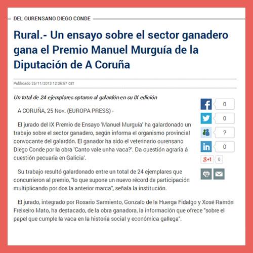 EUROPA PRESS <br> (25/11/2013)
