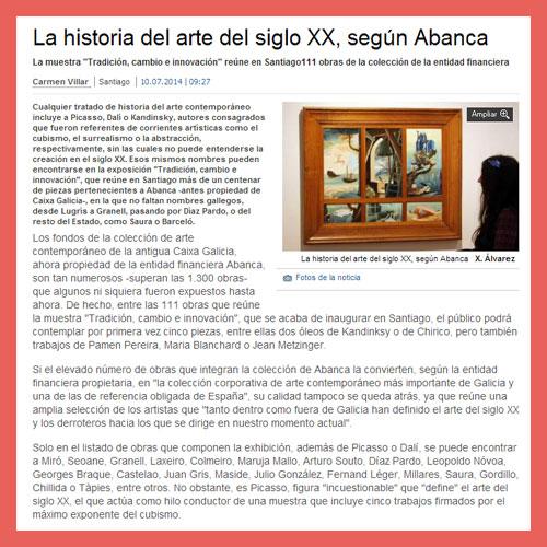 FARO DE VIGO <br>(10/07/2014)