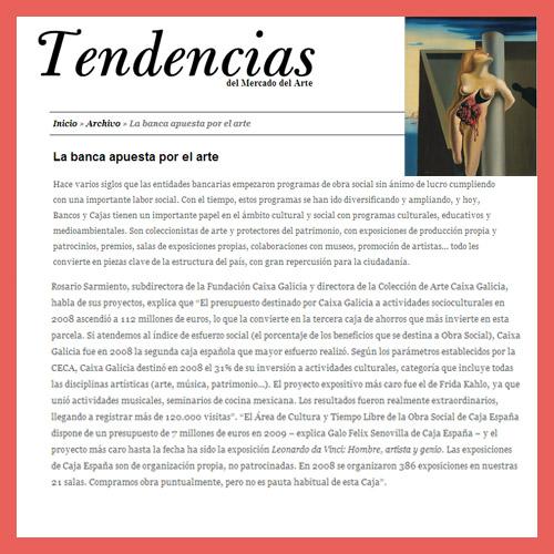 TENDENCIAS DEL ARTE