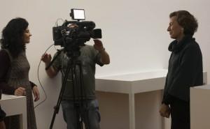 EXPOSICION MULLERES DO SILENCIO MUSEO MARCO ROSARIO SARMIENTO ENTREVISTA PARA METOPOLIS TVE 2